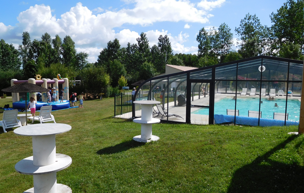 Photo piscine du camping Campilô en Vendée vacances familiales