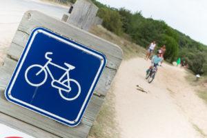 Photo balade à vélo à Saint Jean de Monts camping Côté Plage