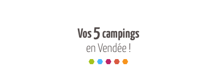 Photo campings couleurs d'été en Vendée