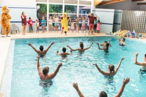 animations piscine camping