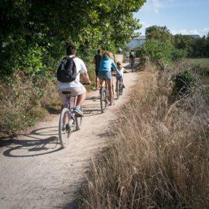 camping pistes cyclables vendée